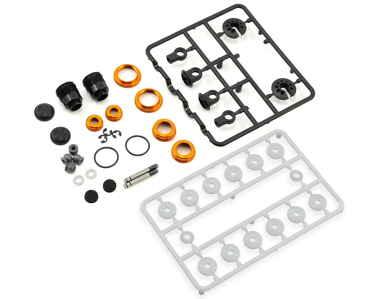 XRAY T4 2018 ULP Aluminum Shock Absorber-Set (Orange) (2)
