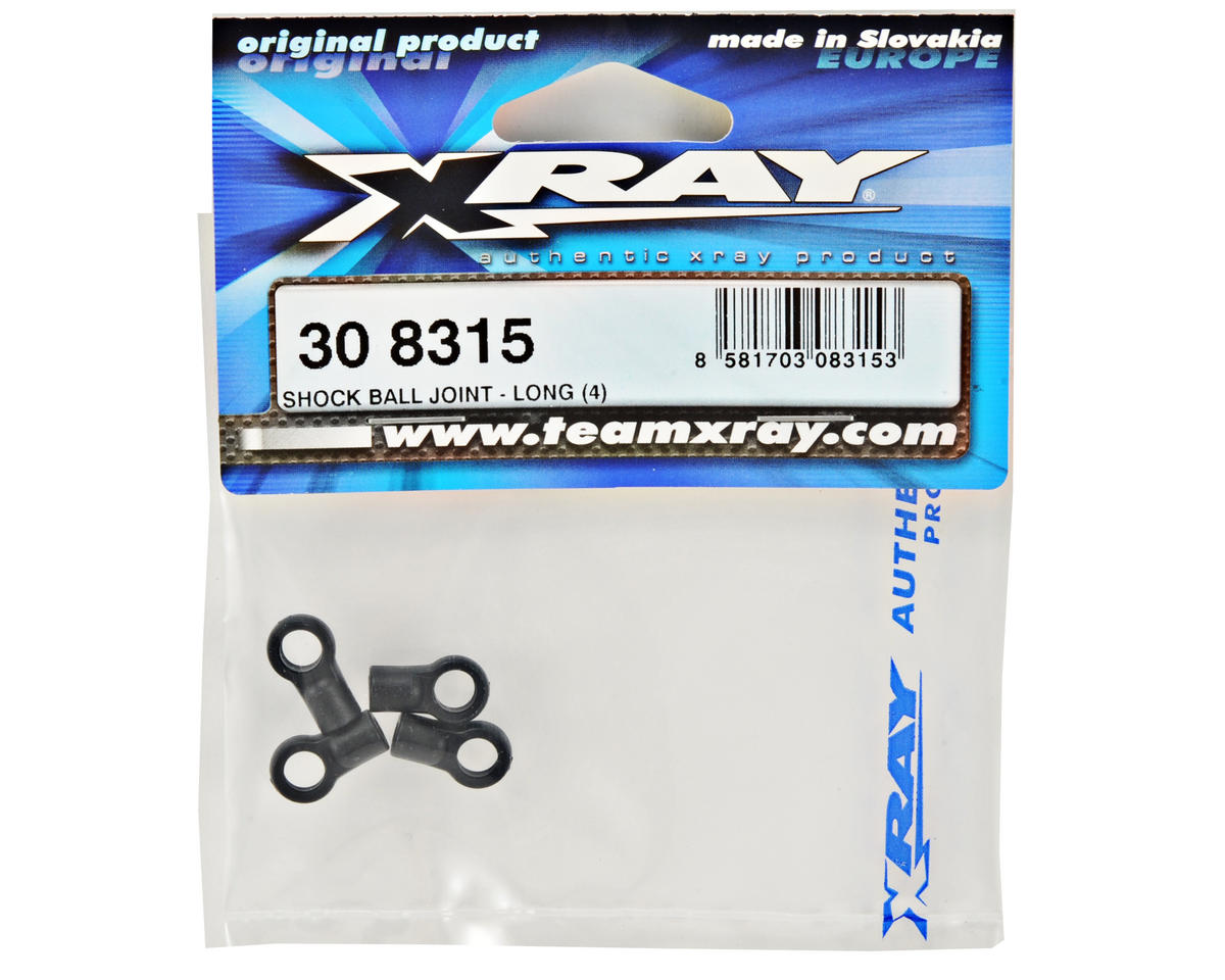 XRAY Long Shock Ball Joint Set (Open) (4)
