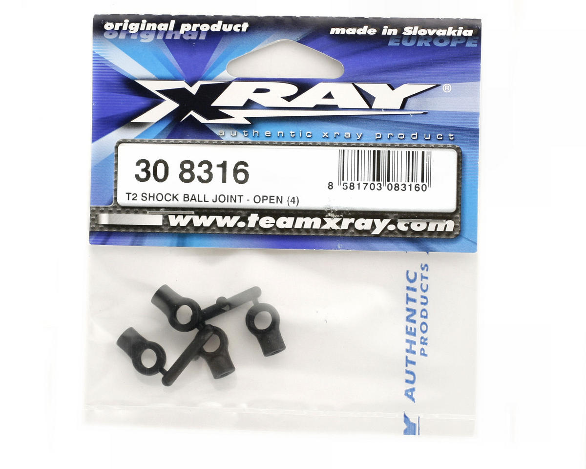 XRAY Shock Ball Joint - Open (4)