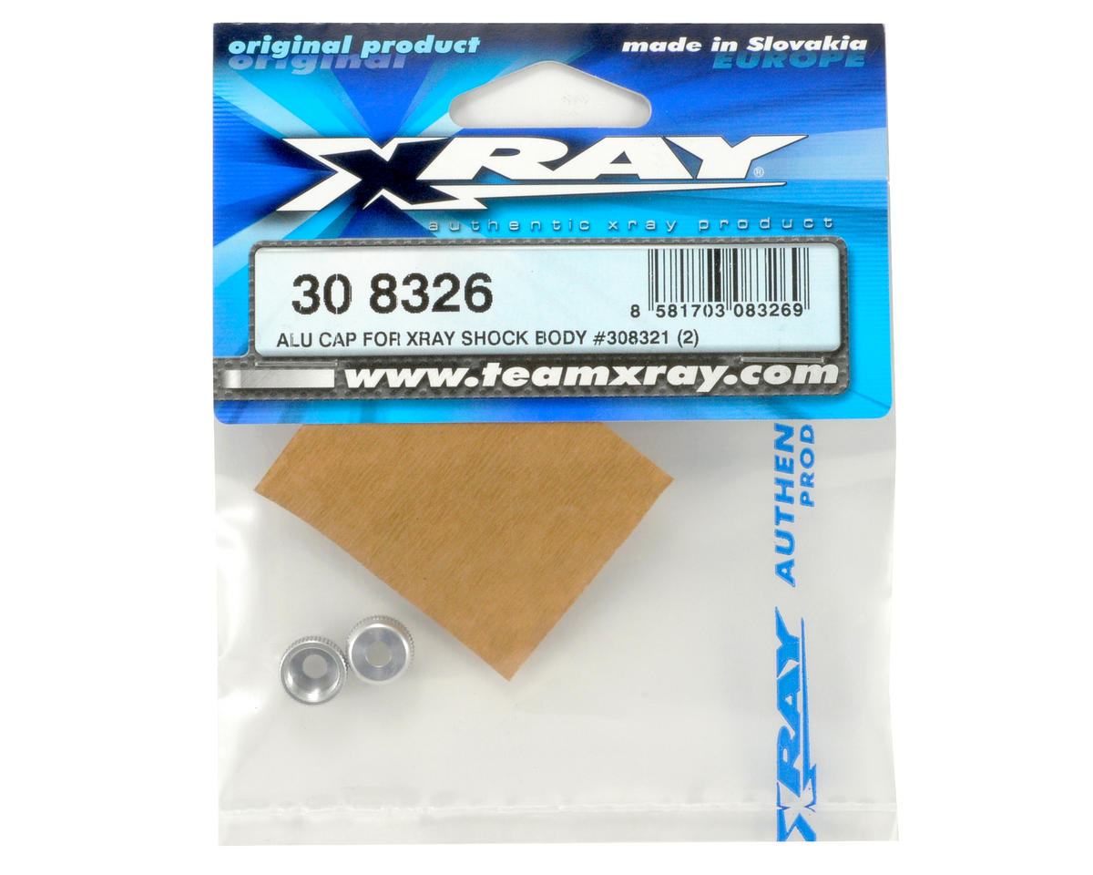 XRAY Aluminum Lower Shock Cap Set (2)