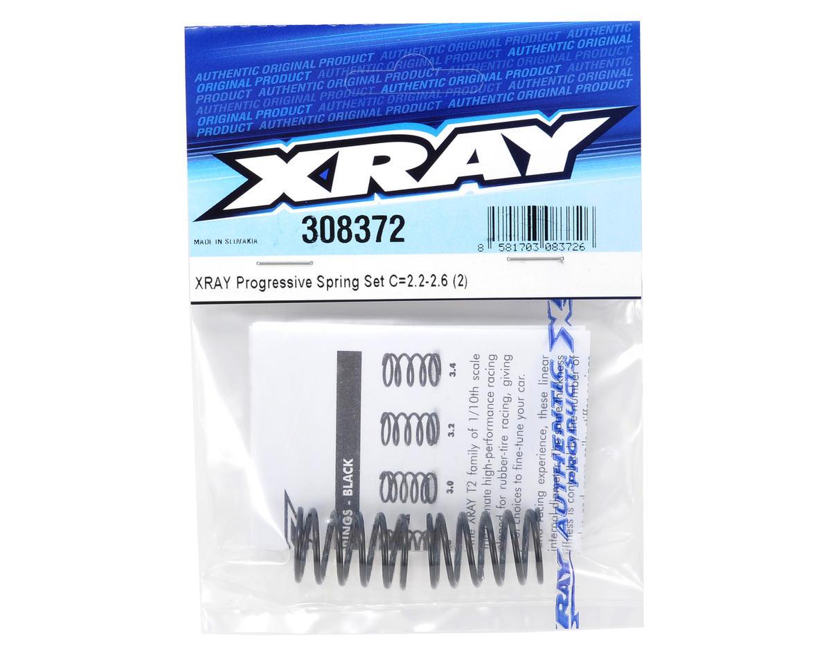 XRAY Progressive Spring Set (2) (C = 2.2-2.6)