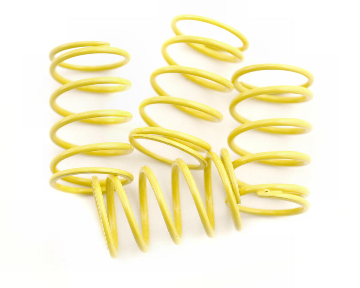 Shock Spring Set D=1.4 (14lb - Super Soft) (Yellow) (4) by XRAY