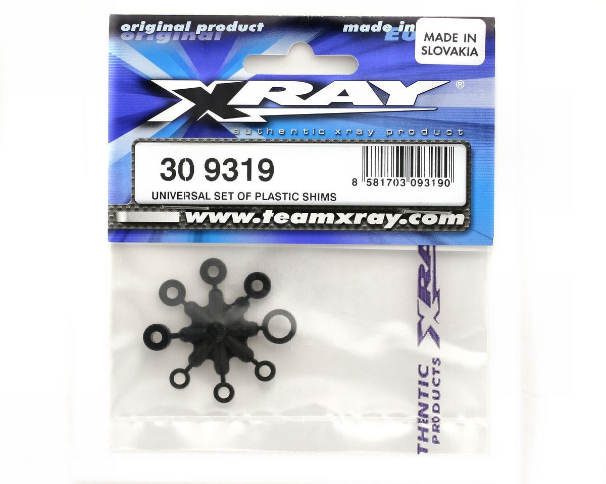 XRAY Universal Set Of Plastic Shims