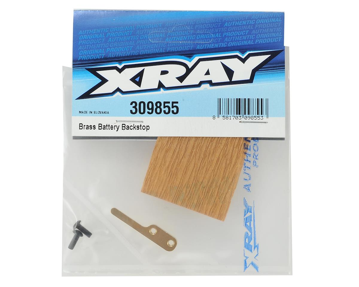 XRAY Brass Battery Backstop
