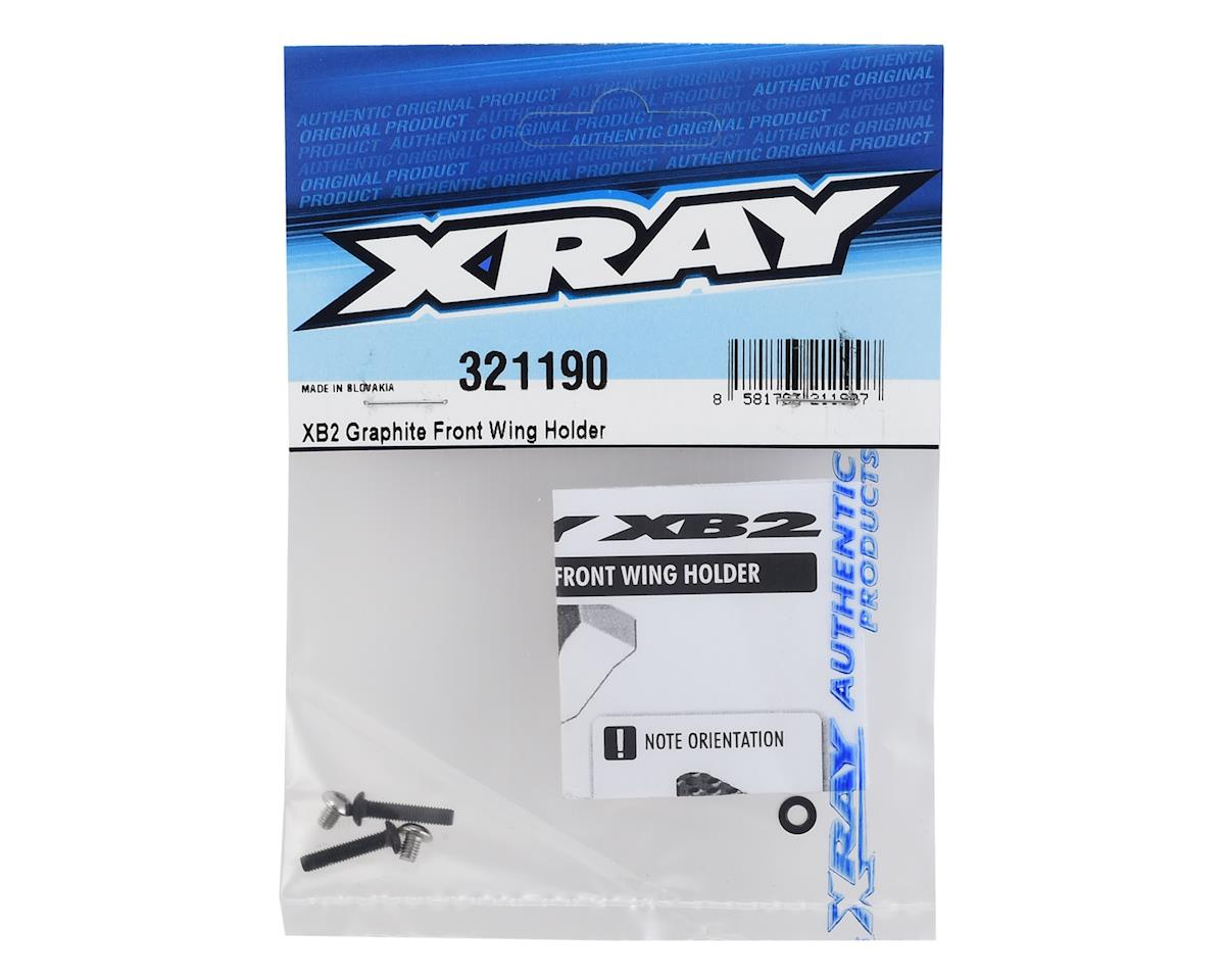 XRAY XB2 Graphite Front Wing Holder