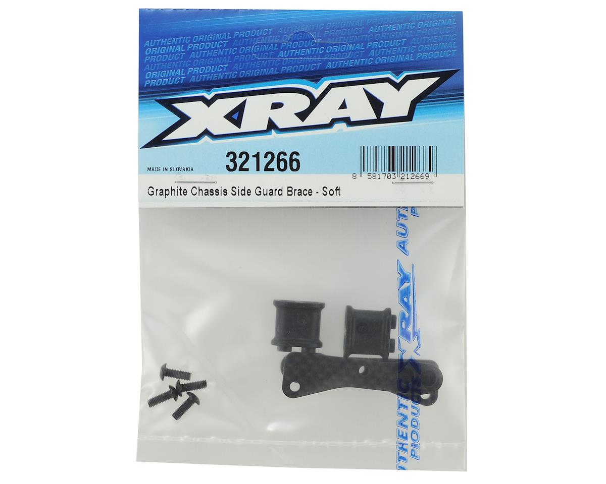 XRAY Graphite Chassis Side Guard Brace (Soft)
