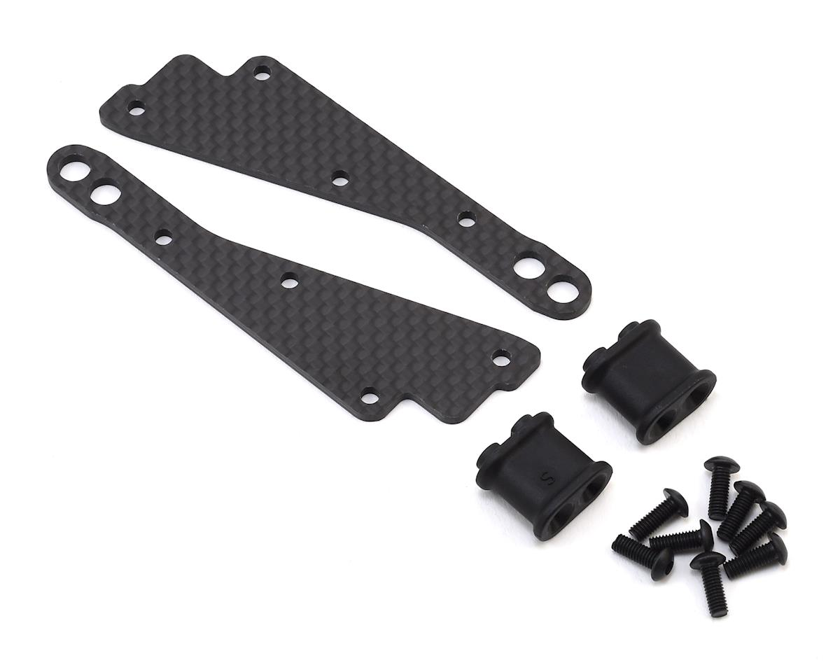 XRAY Graphite Chassis Side Guard Brace Set (Stiff)