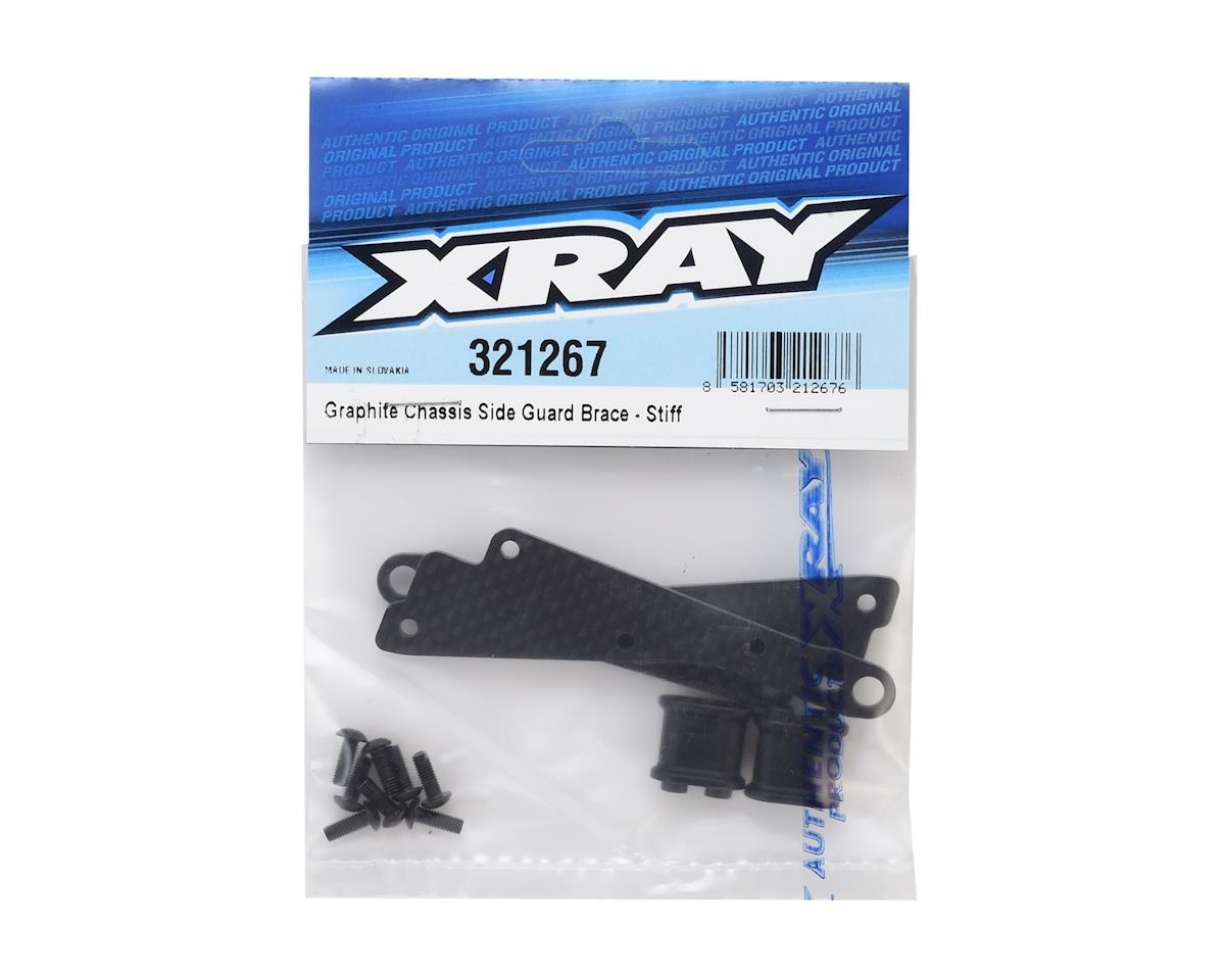 XRAY Graphite Chassis Side Guard Brace Set (Stiff)