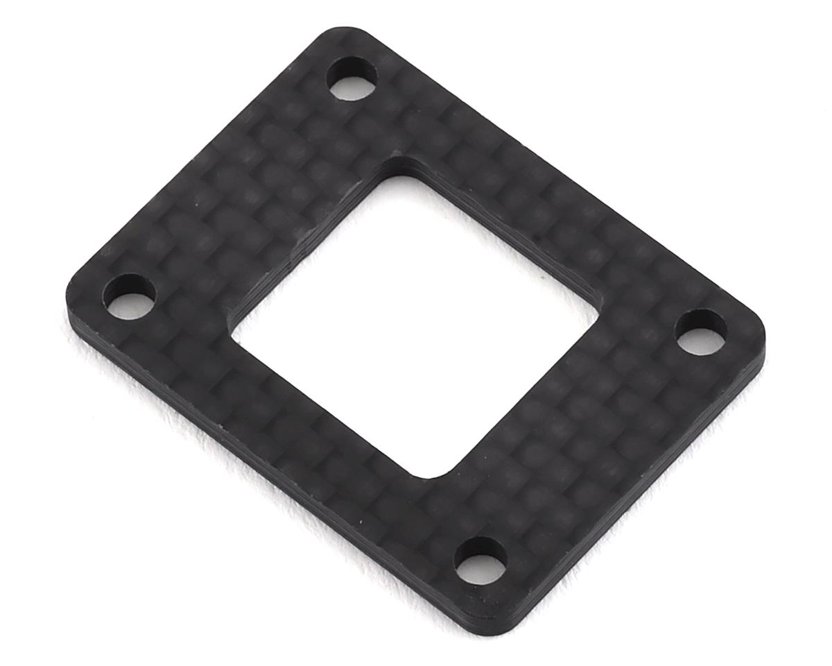 XRAY XB2 2019 Dirt 2.2mm Graphite Gear Box Height Adjustment Plate