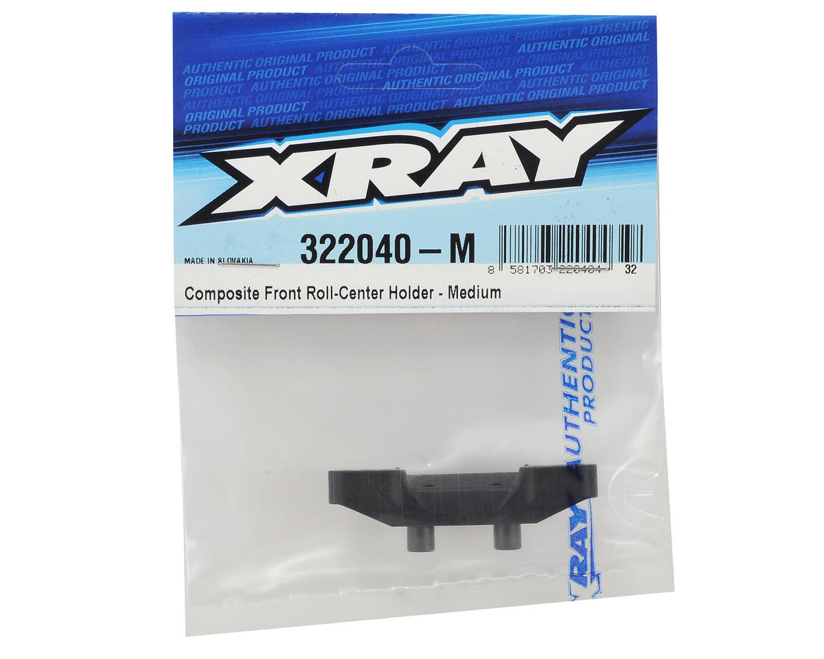 XRAY XB2 Composite Front Roll Center Holder (Medium)