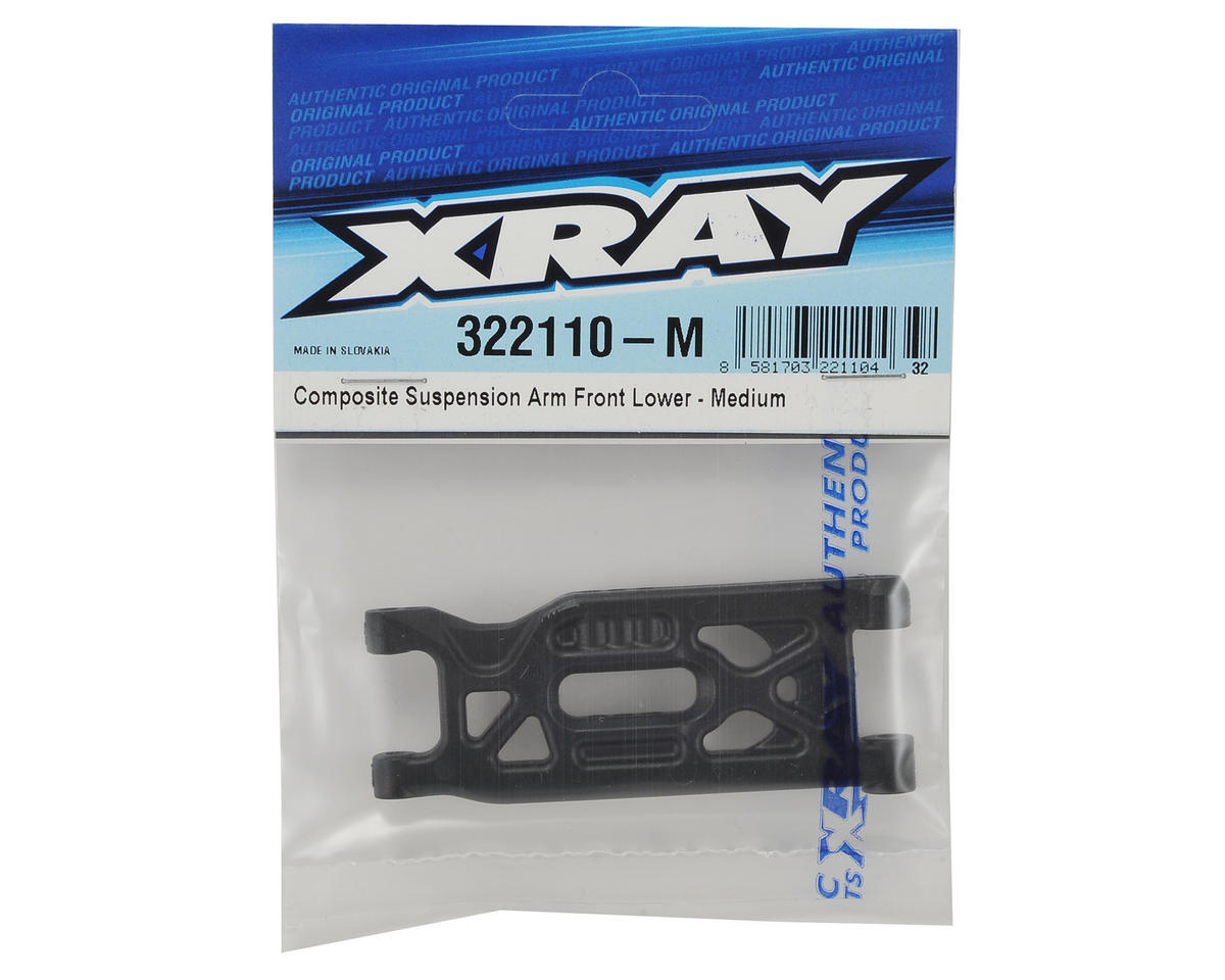 XB2 Composite Lower Front Suspension Arm (Medium) by XRAY