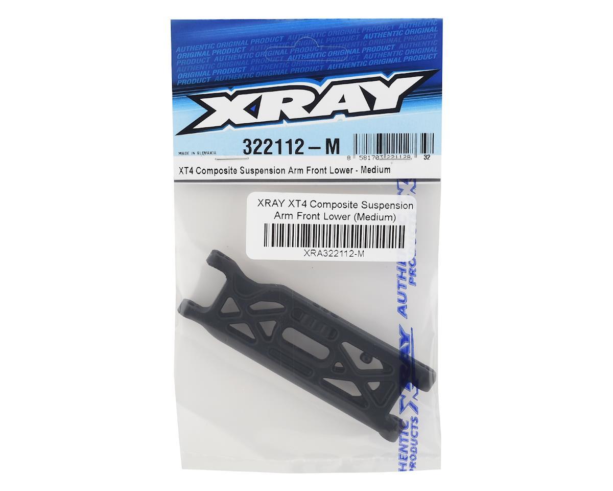 XRAY XT4 Composite Suspension Arm Front Lower (Medium)