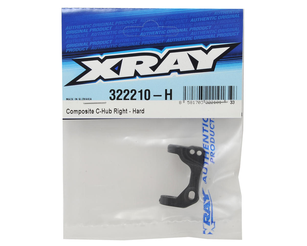 XRAY XB2 Composite Right C-Hub (Hard)