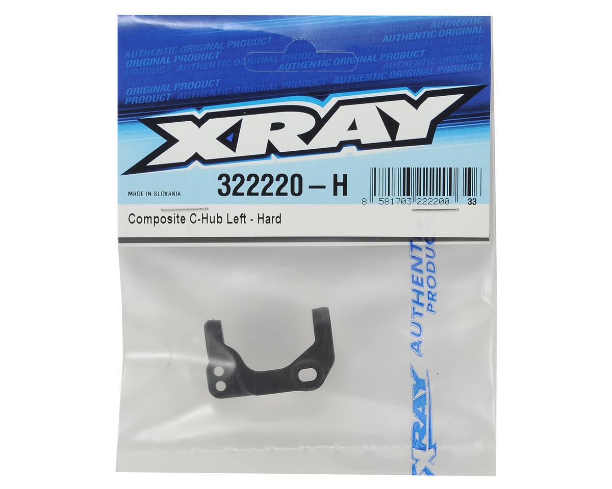 XRAY XB2 Composite Left C-Hub (Hard)