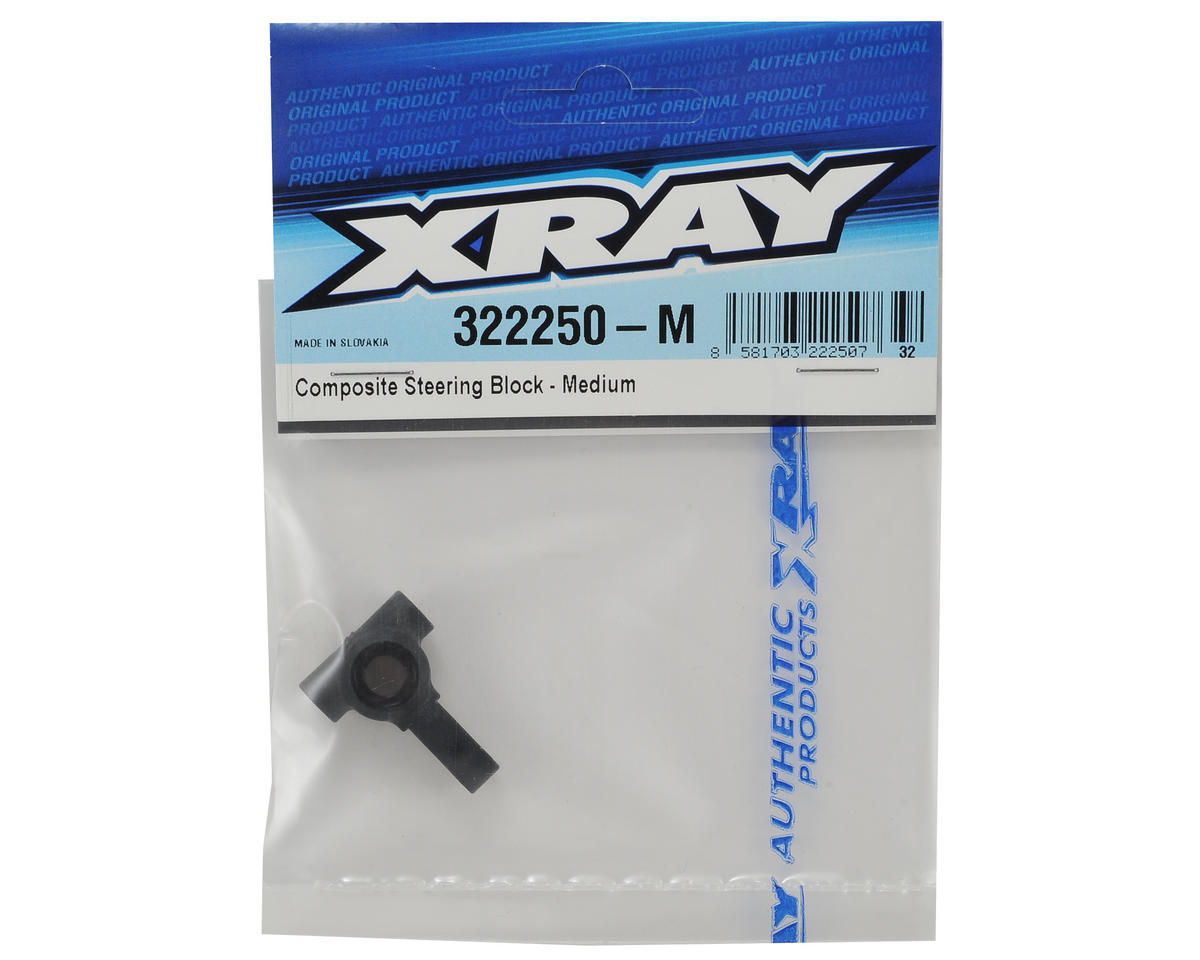 XRAY XB2 Composite Steering Block (Medium)