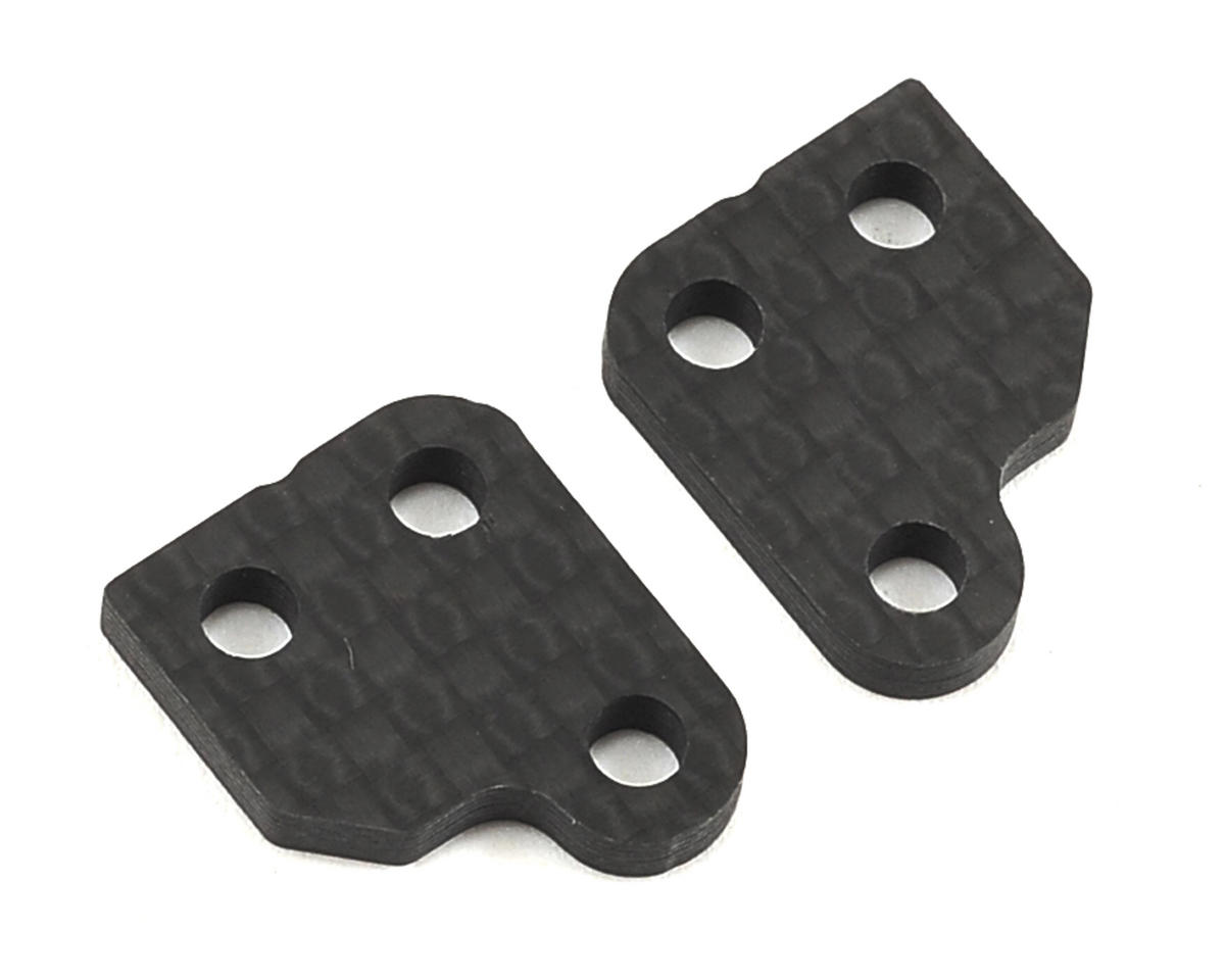 XRAY XB2 Graphite 1-Slot Steering Block Extension (2)