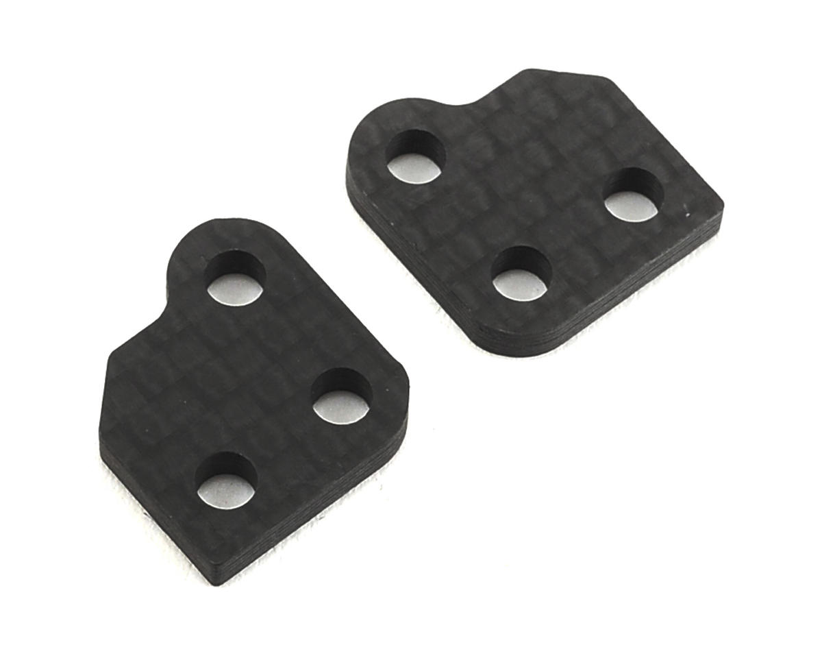 XRAY XB2 Graphite 0-Slot Steering Block Extension (2)