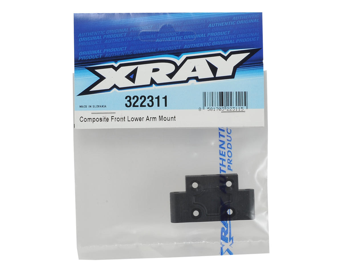 XRAY XB2 Composite Front Lower Arm Mount