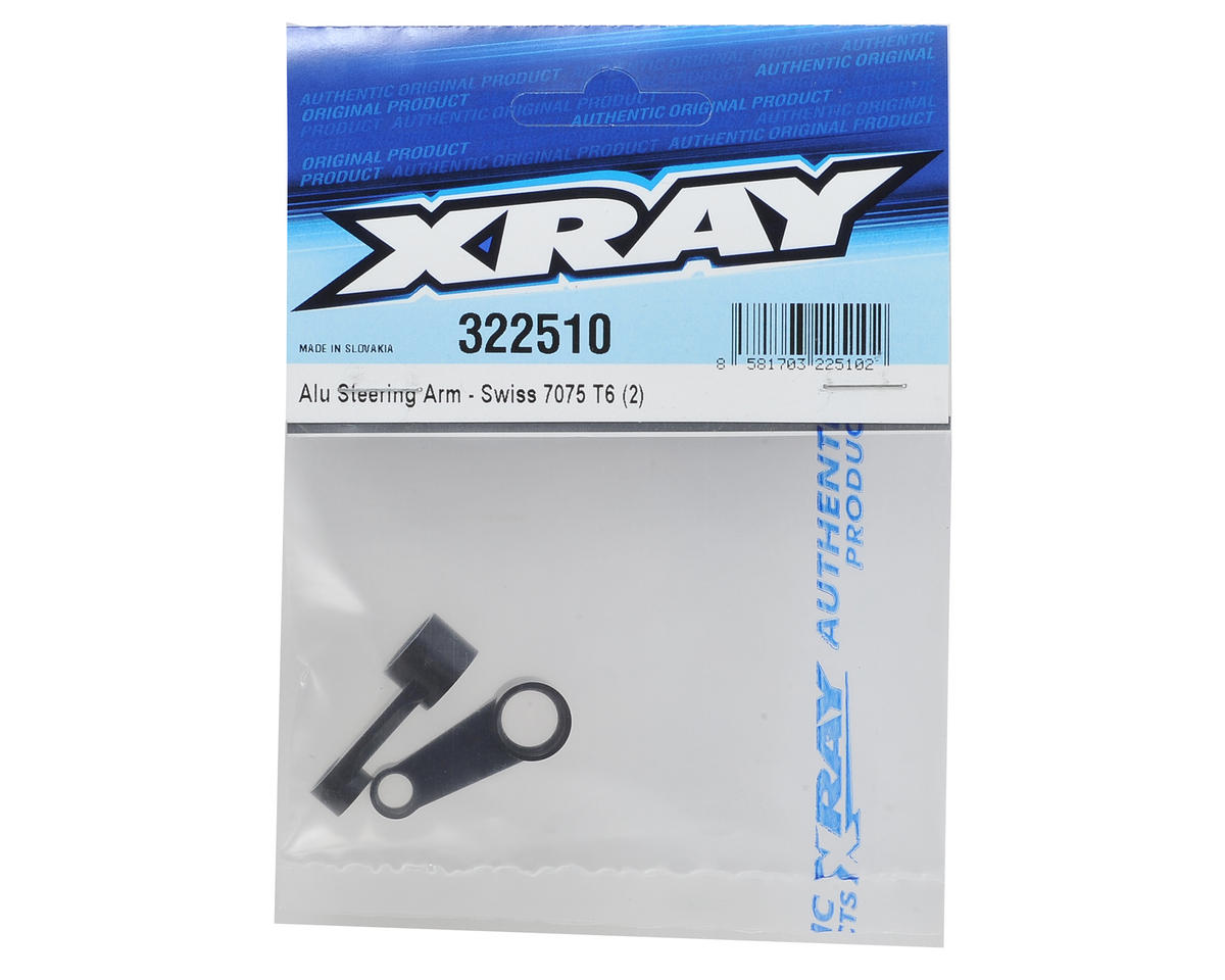 XRAY XB2 Aluminum Steering Arm (2)