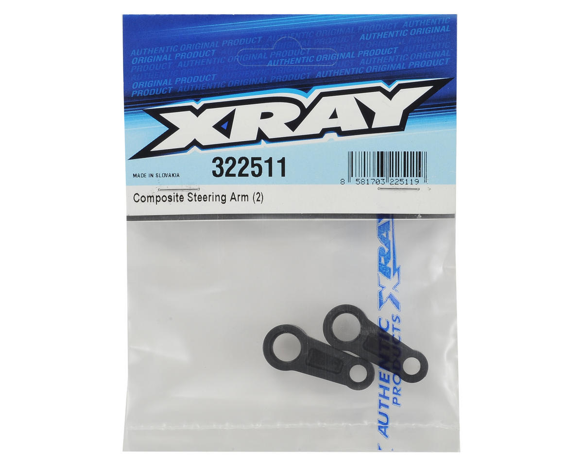 XRAY XB2 Composite Steering Arm (2)