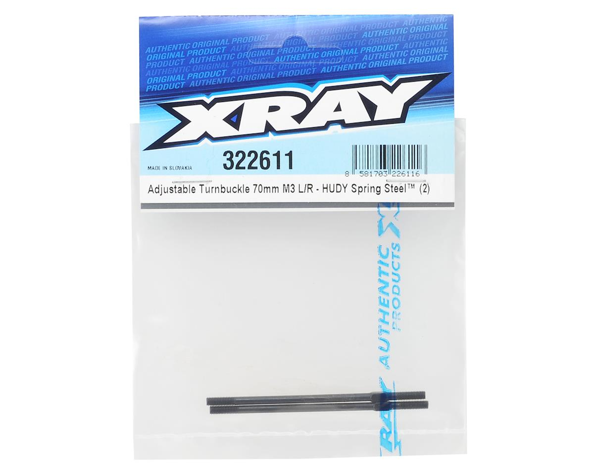 XRAY 70mm Adjustable Turnbuckle (2)