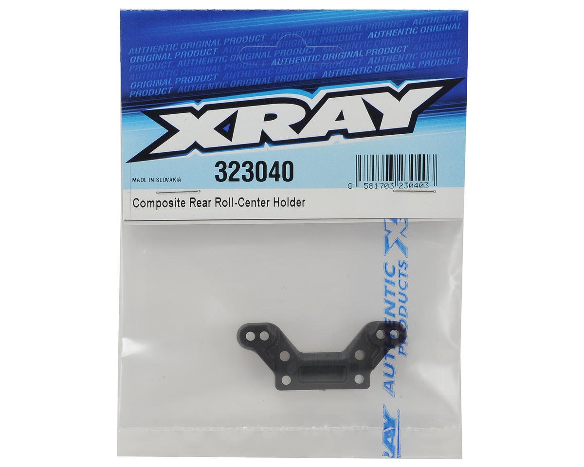 XRAY XB2 Carpet Edition Composite Rear Roll Center Holder