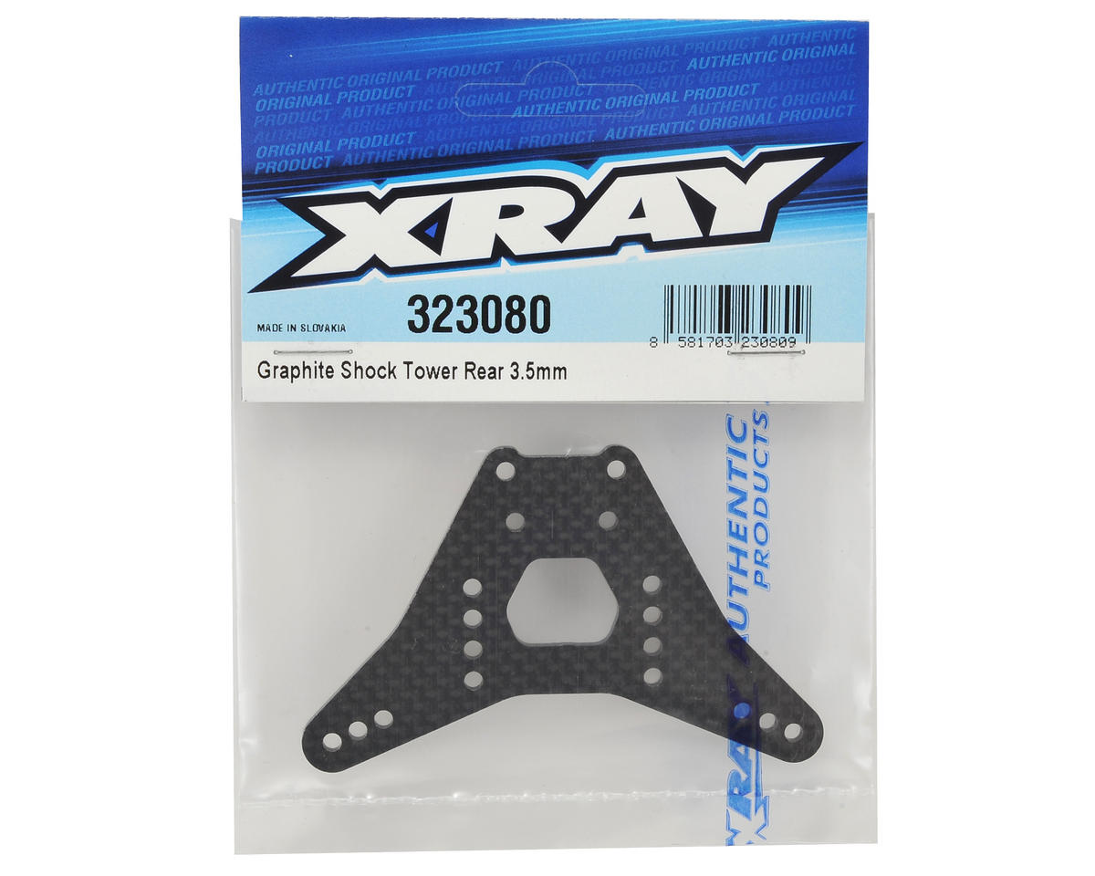 XRAY XB2 3.5mm Graphite Rear Shock Tower