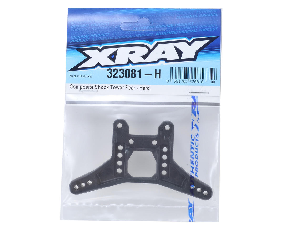 XRAY XB2 Dirt Edition Composite Rear Shock Tower (Hard)