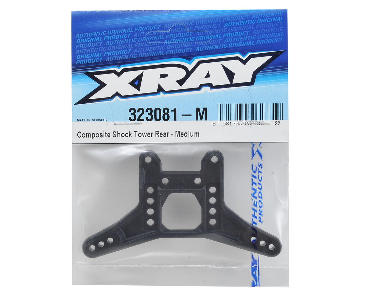 XRAY XB2 Composite Rear Shock Tower (Medium)