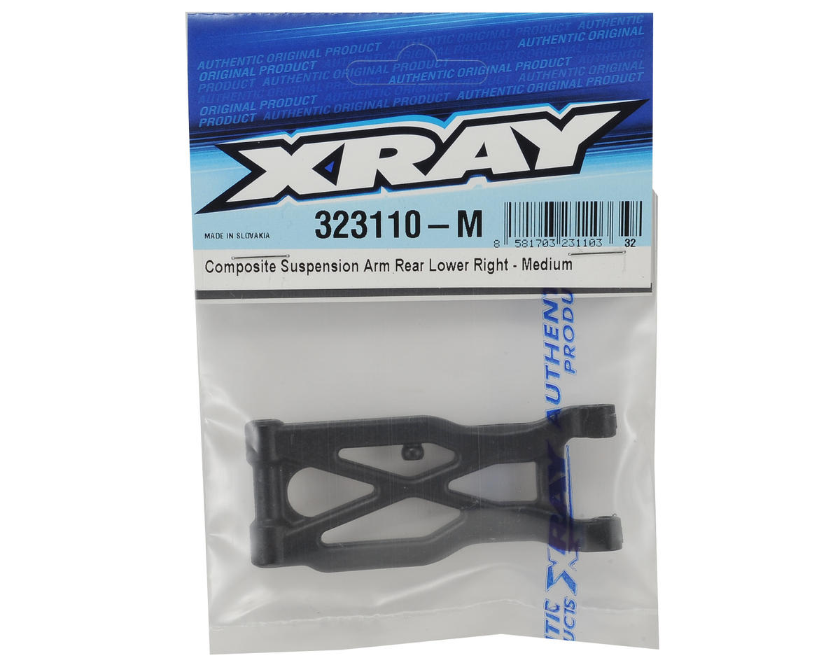 XRAY XB2 Composite Rear Suspension Arm (Medium) (Right)
