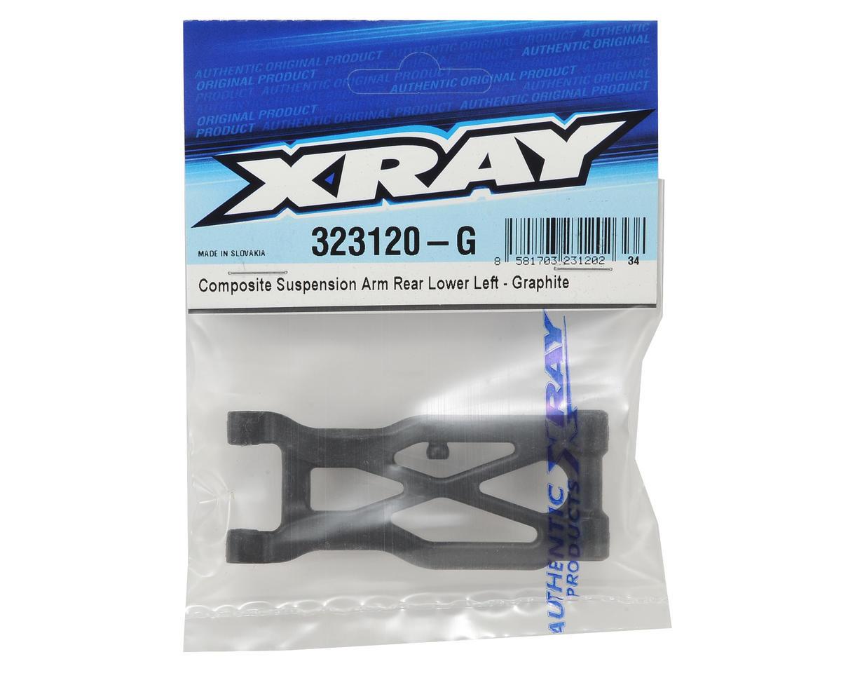 XRAY XB2 Graphite Composite Rear Suspension Arm (Hard) (Left)