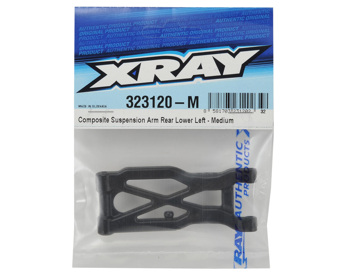 XRAY XB2 Composite Rear Suspension Arm (Medium) (Left)