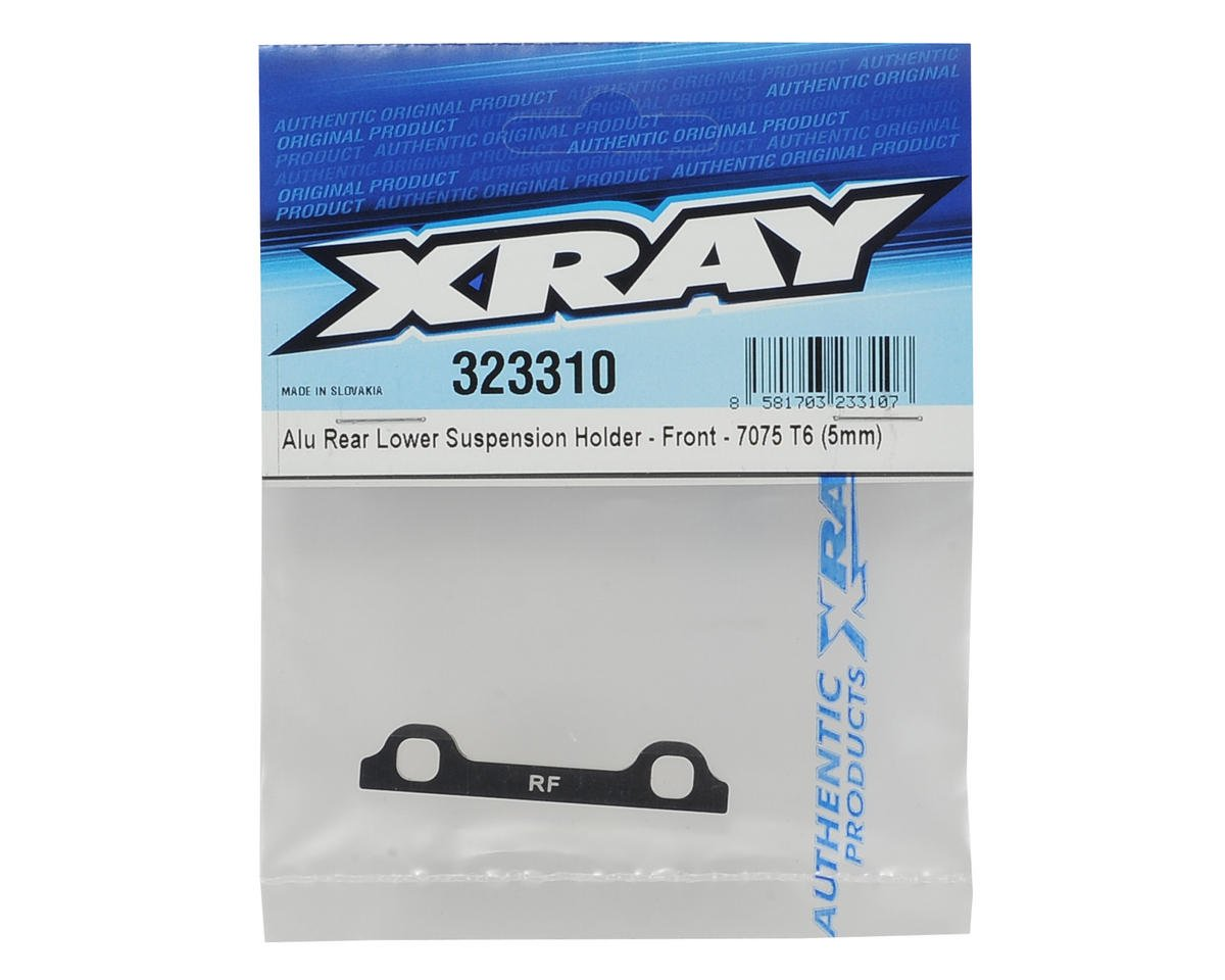 XRAY XB2 Aluminum Rear/Front Lower Suspension Holder