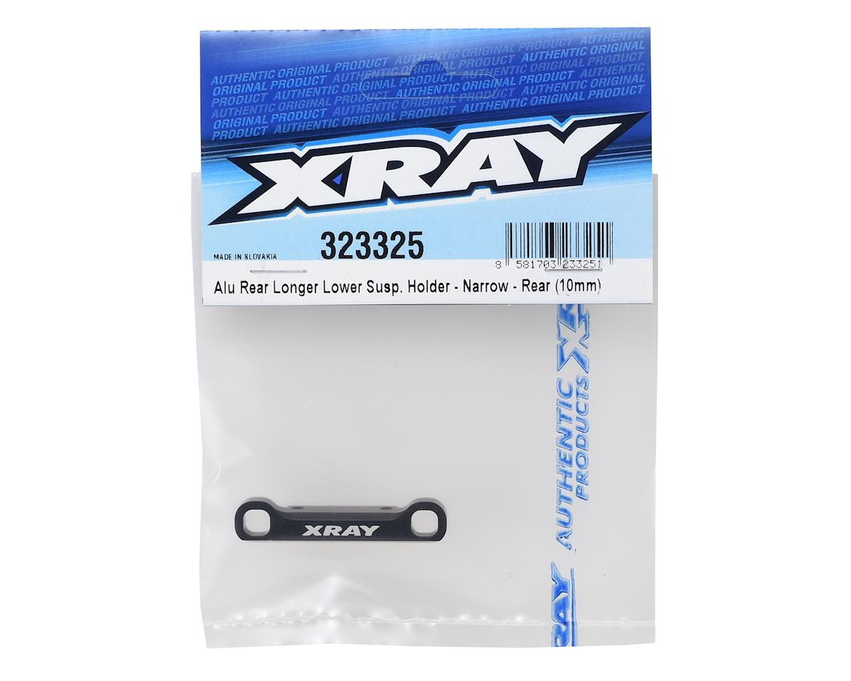 XRAY Aluminum Rear/Rear Lower Suspension Holder (Narrow) (10mm Longer)