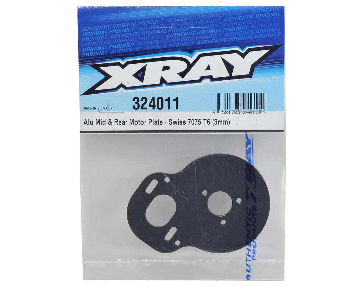 XRAY XB2 3.0mm Aluminum Mid & Rear Motor Plate