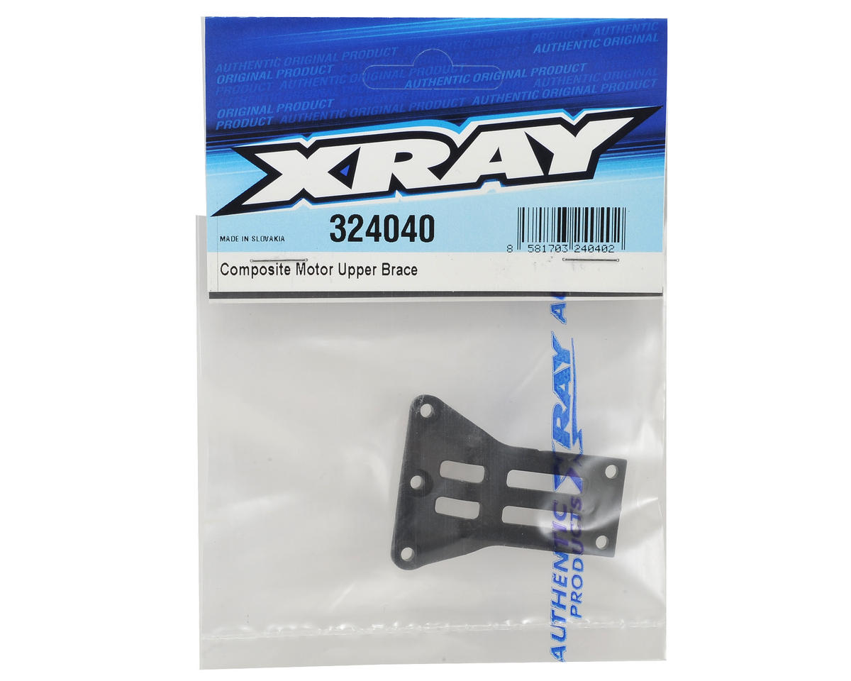 XRAY XB2 Carpet Edition Composite Upper Motor Brace