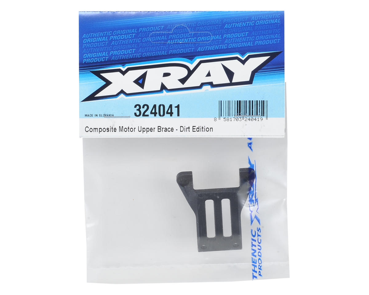 XRAY XB2 Dirt Edition Composite Motor Upper Brace