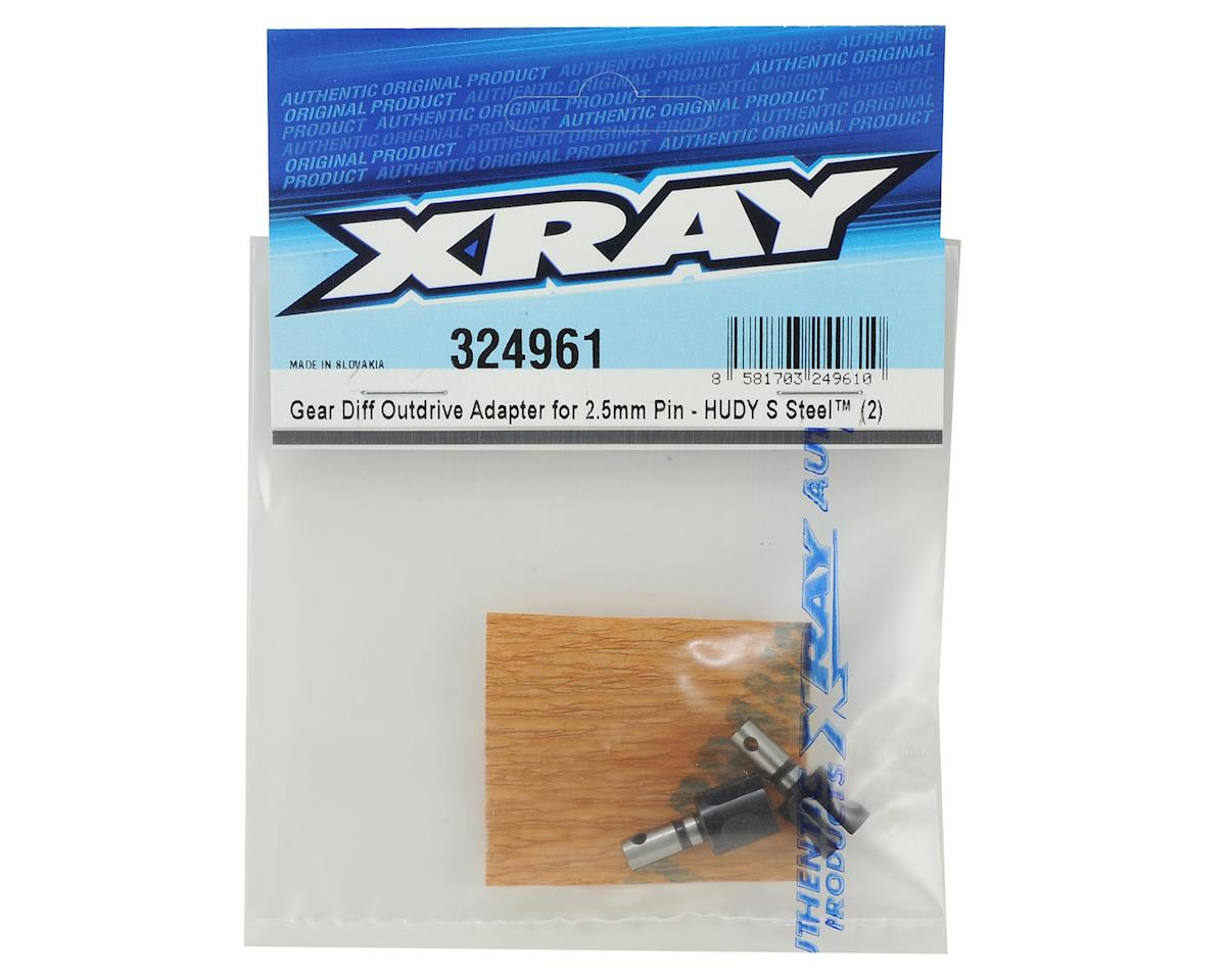 XRAY XB2 2018 Carpet 2.5mm Pin Gear Diff Outdrive (2)