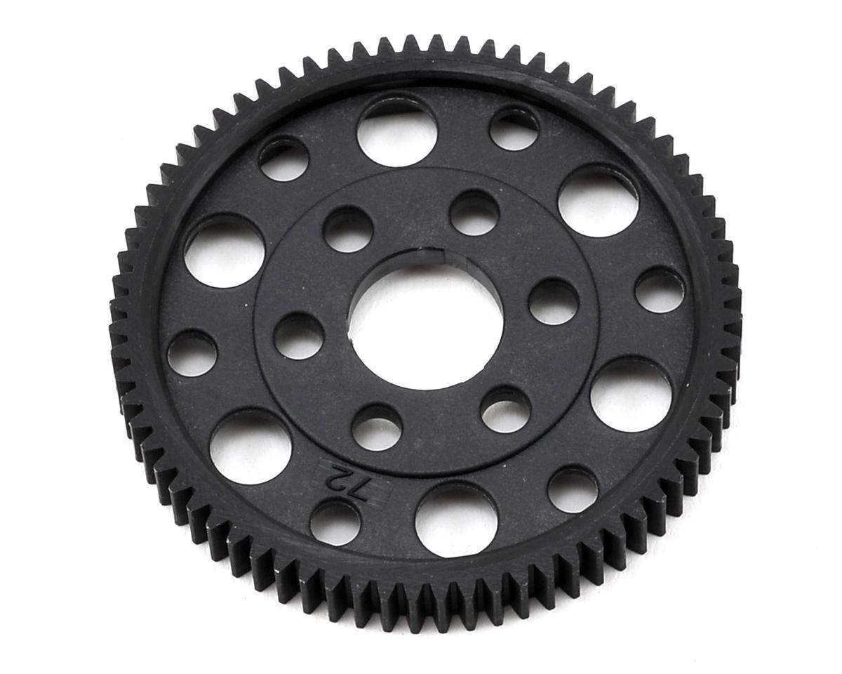 Composite 48P Slipper Eliminator Spur Gear (72T) by XRAY