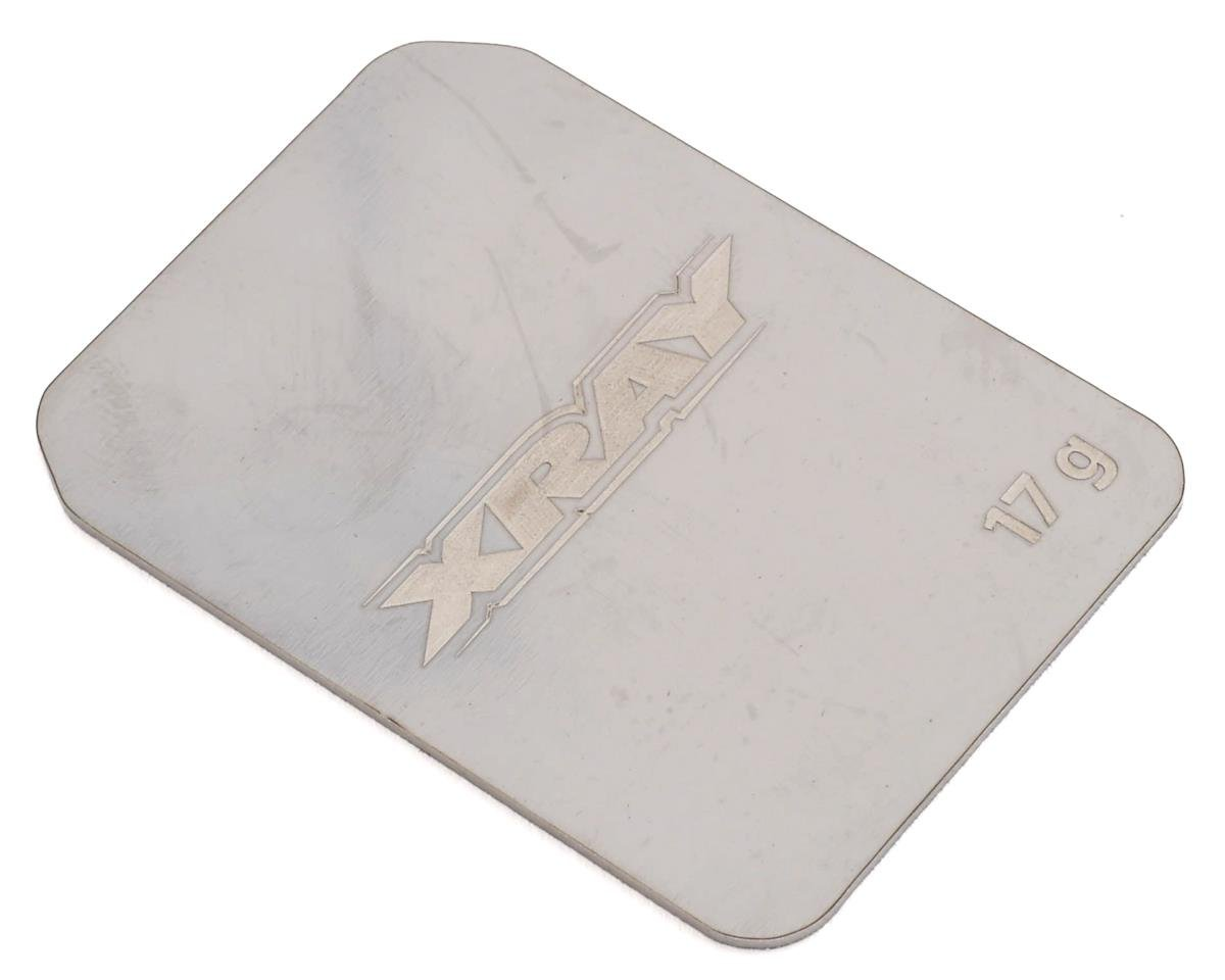 XRAY XB2 Front Stainless Steel Weight (17g)