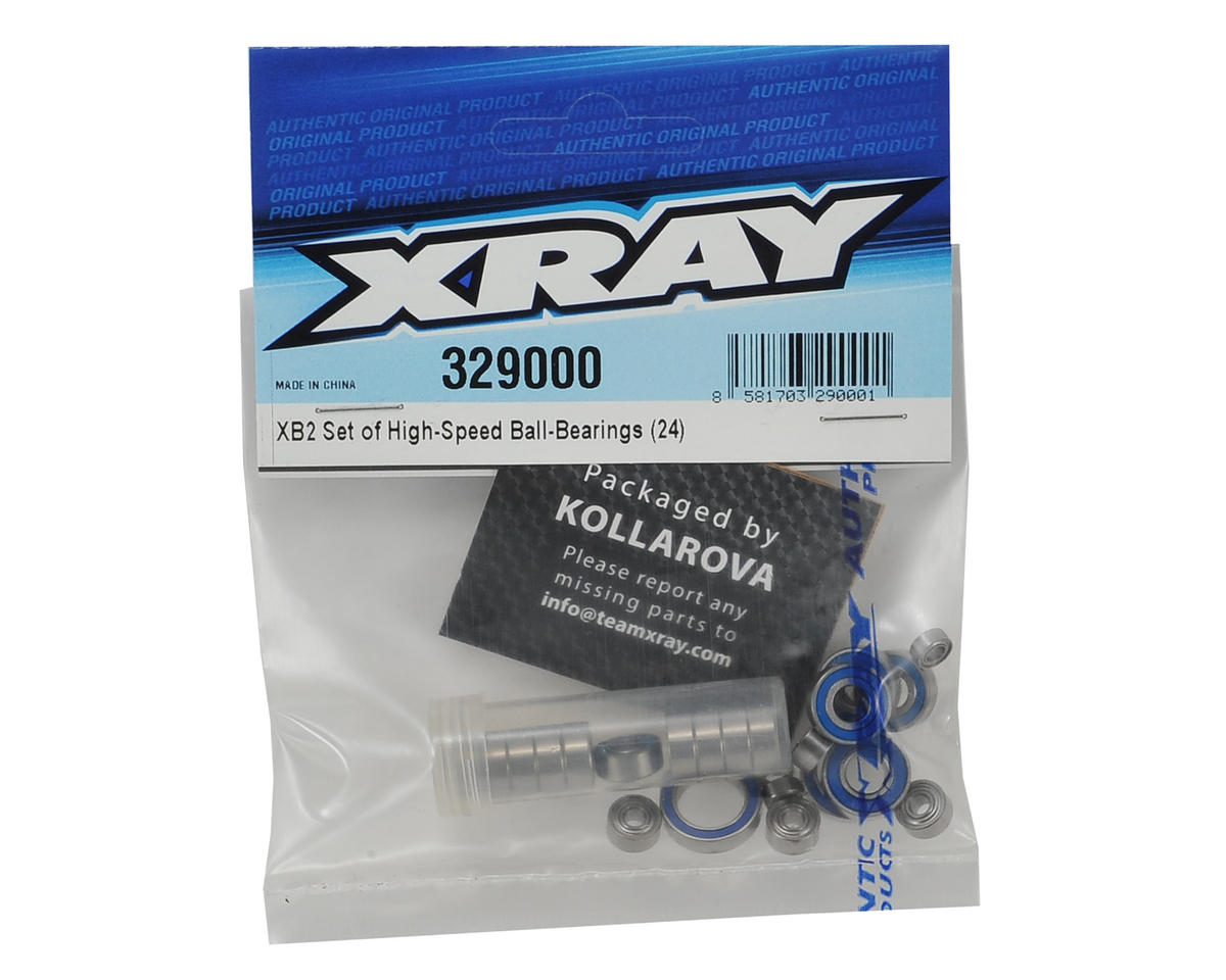 XRAY XB2 High-Speed Ball Bearing Set (24)