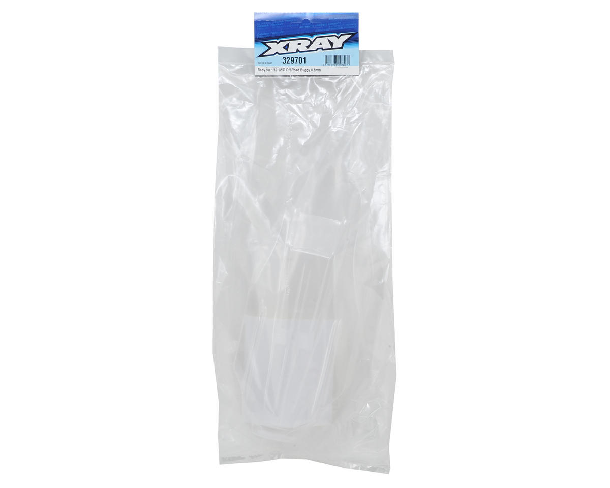 XRAY XB2 Dirt Edition 0.50mm Buggy Body (Clear) (Lightweight)