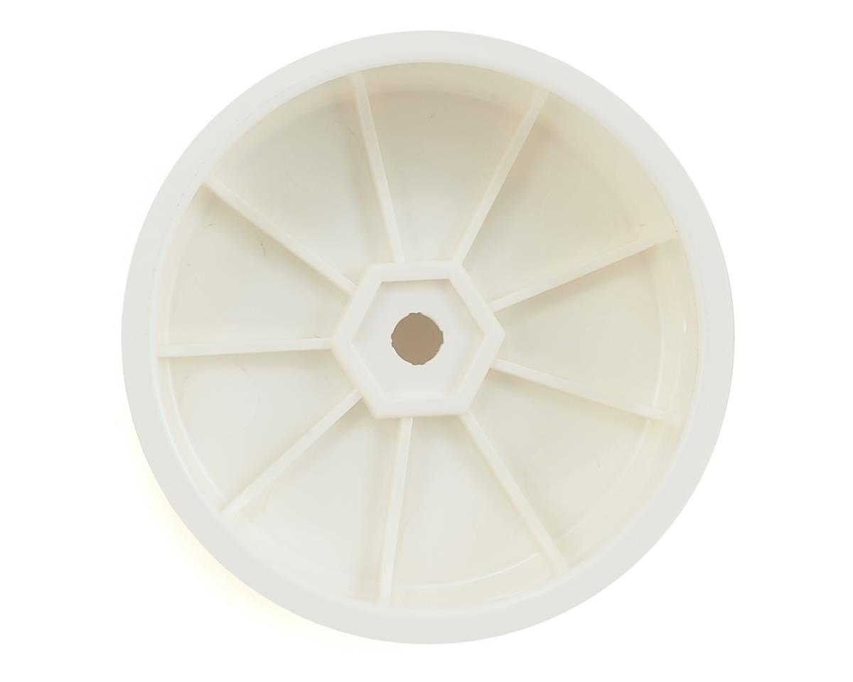 """Image 2 for XRAY 12mm Hex """"Aerodisk"""" 2WD Front Buggy Wheels (10) (White) (XB2)"""