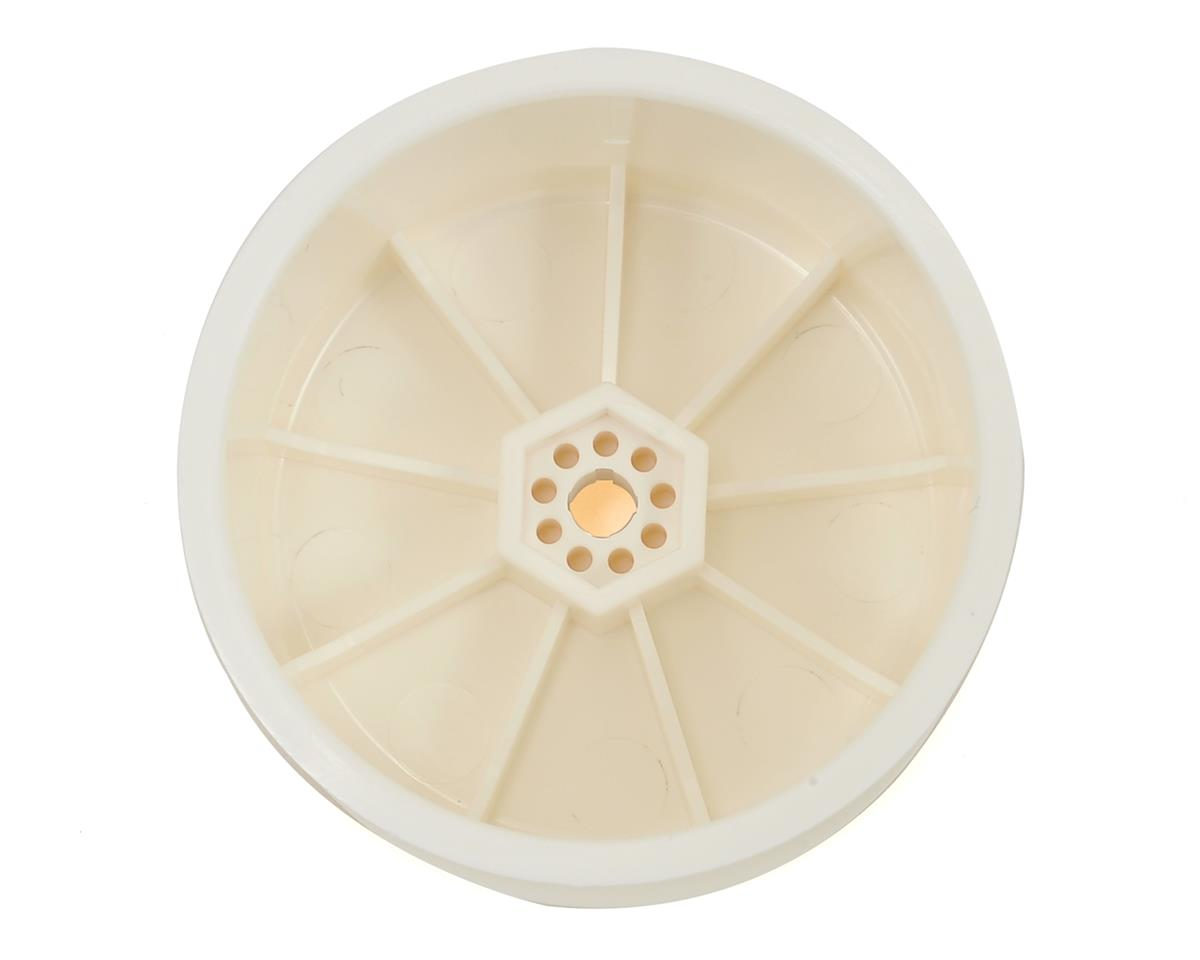 "XRAY 12mm Hex V2 ""Aerodisk"" 1/10 Rear Buggy Wheels (2) (White) (XB2/XB4) (10)"