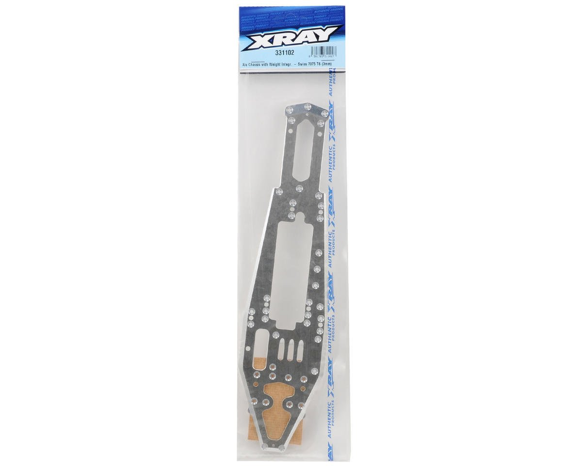 XRAY 3mm NT1 Chassis w/Weight Integration