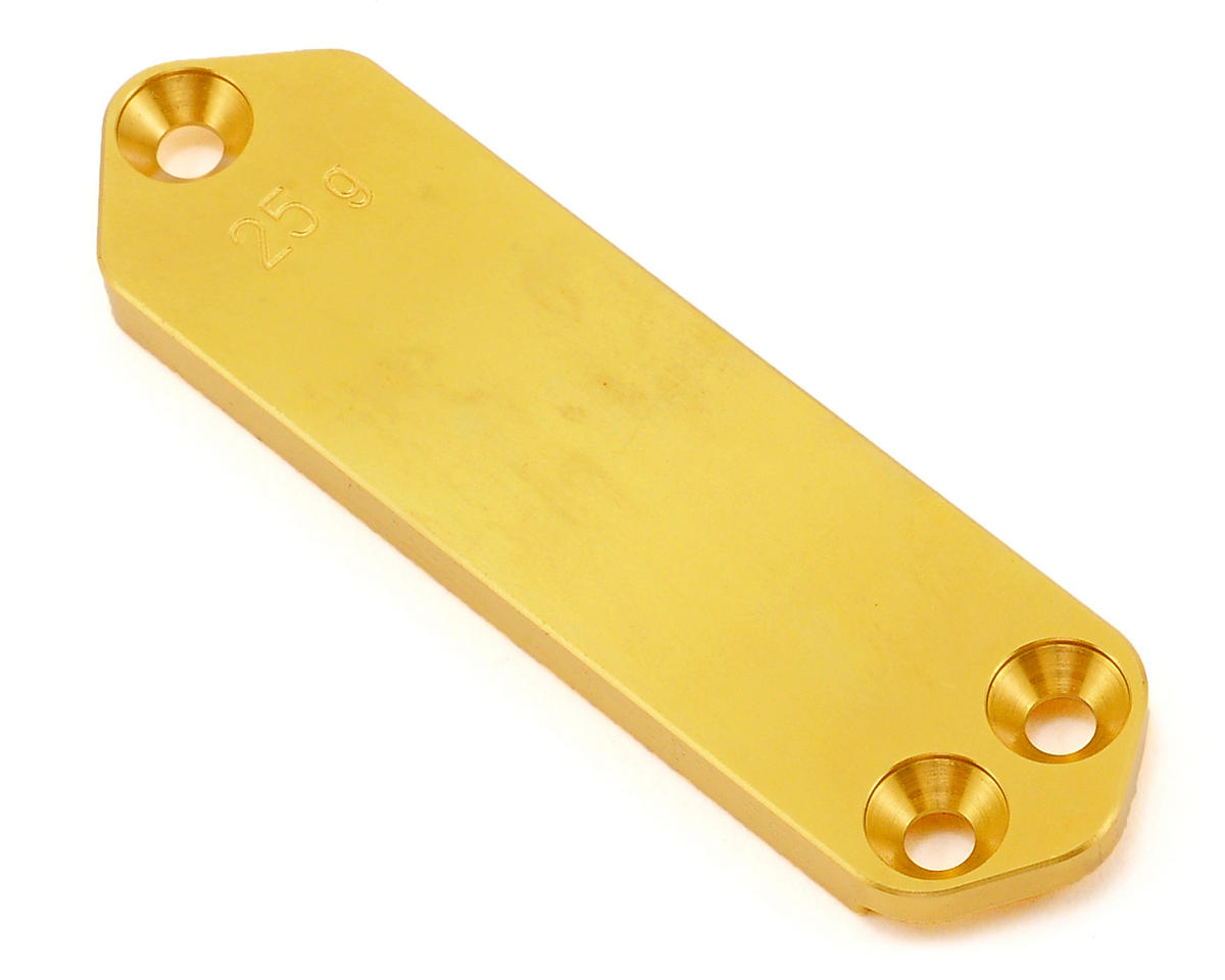 XRAY 25g Brass Chassis Weight (Front)