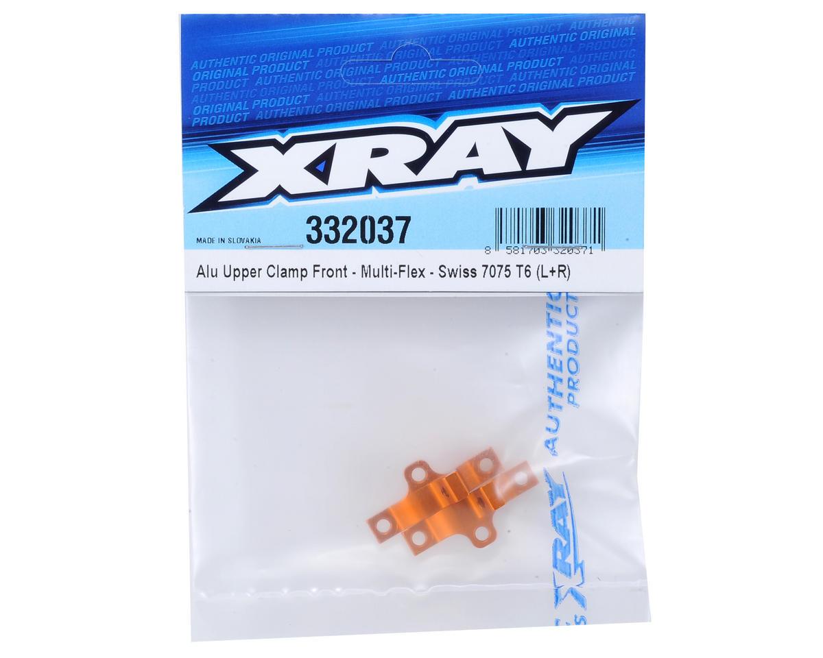 XRAY Aluminum Multi-Flex Front Upper Clamp