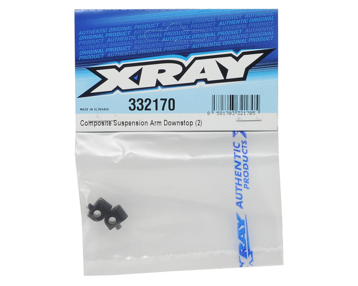 XRAY Composite Suspension Arm Downstop (2)