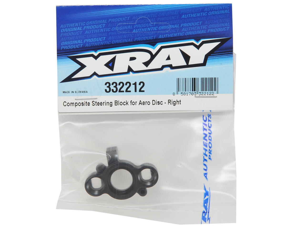 XRAY Composite Aero Disc Steering Block (Right)