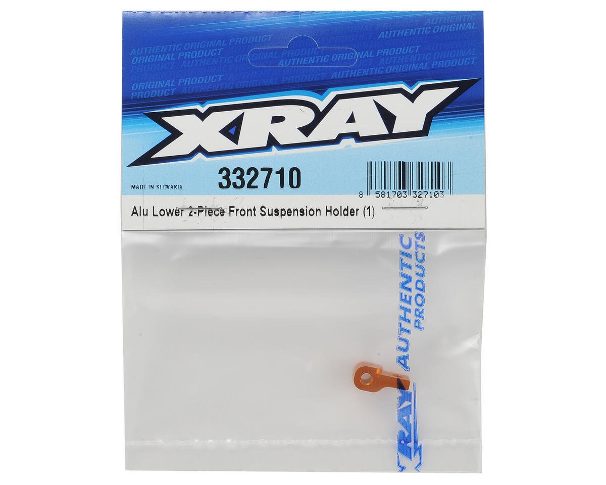 XRAY Aluminum Lower 2 Piece Front Suspension Holder
